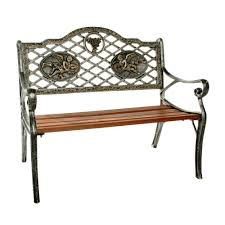 garden decorative bench with angel design hd6031 ap the home depot