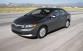 hf honda civic 40 mpg compact sedan comparison chevy cruze eco vs ford focus