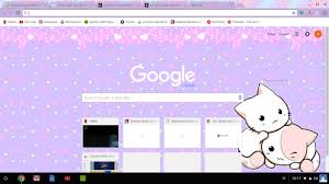 chrome themes cute pastel kawaii kittens chrome theme themebeta cute google chrome