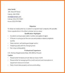 resume sample for cashier position target cashier resume sample