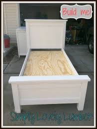 Bed Frames Diy King Bed Frame Plans Farmhouse Bed Pottery Barn by Best 25 Diy Twin Bed Frame Ideas On Pinterest Twin Bed Frame