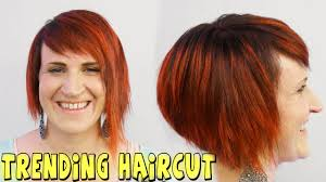 trending womens haircut 2015 youtube tutorial youtube