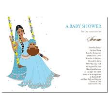 unique indian baby shower invitations jhule baby by soulful moon