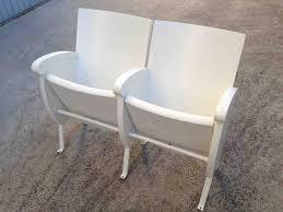 sedie usate napoli 3 sedie cinema coppia in legno e ferro a napoli kijiji