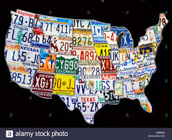 Images Of The Map Of The United States by Map Of The United States Of America Made From A Collage Of Stock