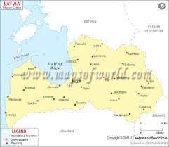 cities map latvia cities map major cities in latvia
