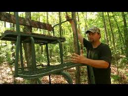 Ameristep Tree Stand Blind Ladder Tree Stand Ameristep 15 U0027 Two Man Solid Steel 2 Seat