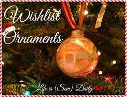 Special Christmas Ornaments Life Is Sew Daily Diy Christmas Wishlist Ornaments