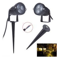 Outdoor Garden Spike Lights 12v Outdoor Led Lawn L Garden Light 3w 9w Ip65 Waterproof Green