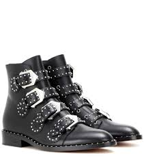 buy boots usa givenchy jewelry box givenchy embellished leather boots black