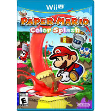 paper mario color splash for nintendo wii u walmart com
