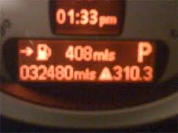 warning lights on bmw 1 series dashboard yellow warning triangle what does it motoring