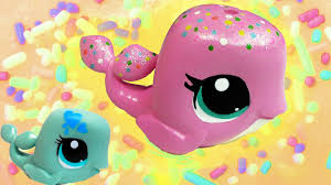 diy custom rainbow sprinkle cake lps whale inspired do it yourself