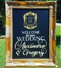 wedding chalkboard wedding chalkboard signs created for atlanta