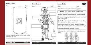 roman soldiers worksheet romans roman soldiers roman history
