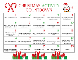 christmas calendar ultimate christmas calendar countdown kids will