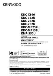 kenwood kdc x396 manual