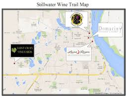 Wisconsin Breweries Map by Wine Tours In Stillwater With Limousine Service Trail