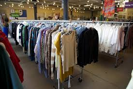 used clothing stores shopping secondhand bu today boston