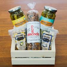 Bloody Mary Gift Basket Pickles And Nuts Gift Basket The Santa Barbara Company
