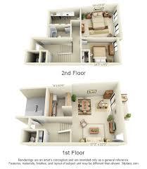 2 floor apartments floor plans pricing