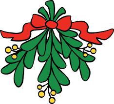 christmas mistletoe christmas mistletoe decorative sticker tenstickers