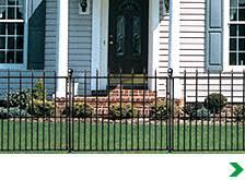 Decorative Metal Fence Panels Fencing At Menards
