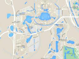 Orlando Disney Map by Maps Of Walt Disney World U0027s Parks And Resorts