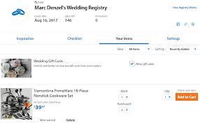 wedding registry website reviews walmart wedding registry reviews by wedding experts couples