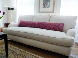 Sofas With Pillows by Beautiful Pillow On The Single Cushion Sofa Room Extras