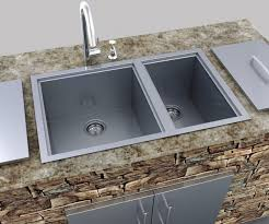 Outdoor Kitchen Sinks And Faucet 55 Exles Showy Sinks Outdoor Kitchen Sink Plumbing Installation