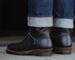 s engineer boots sale engineer boots black horween cxl standard strange