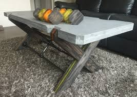Diy Marble Coffee Table by Diy Concrete Coffee Table Album On Imgur