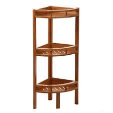 meubles en bambou etagere d angle bambou