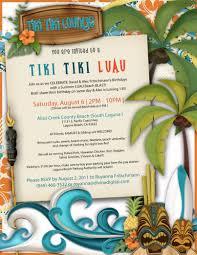 hawaiian themed birthday invitations free tags hawaiian birthday