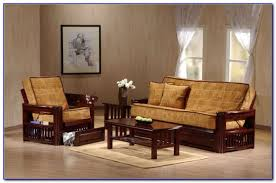 fold out sofa beds wood futon frame with mattress futons home