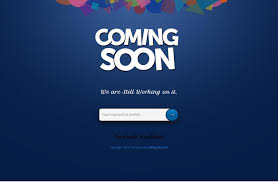 html layout under 40 free html coming soon maintenance under construction website