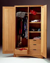 Wood Armoire Wardrobe Arts And Crafts Armoire Mission Armoire Wardrobe