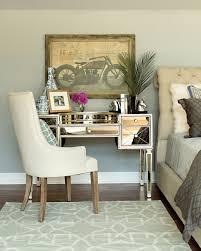 Mirrored Furniture Bedroom by Audrey Mirrored Vanity Desk Vanity Desk Vanities And Desks