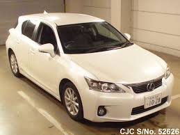 lexus ct200h used car for sale 2011 lexus ct200h white for sale stock no 52626 japanese used