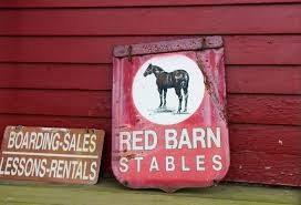 Red Barn Boarding Ticket To Ride North Stamford Stable Keeps Horse Sense Alive In