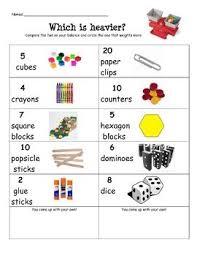 53 best preschool math measuring images on pinterest math