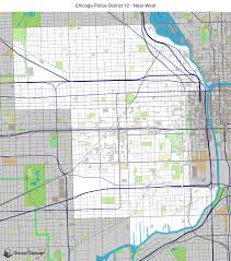 Chicago Neighborhoods Map Map Of West Chicago You Can See A Map Of Many Places On The List