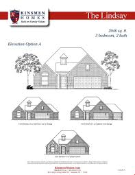 house of bryan floor plan the lindsay home plan by kinsmen homes in bryan college station