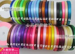 craft ribbon wholesale wholesale retail wide 0 6cm length 25 yard polyester satin ribbons