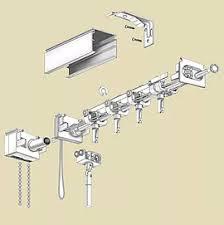 Vertical Blind Head Rail Nomistar Vertical Blinds