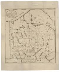 Southampton New York Map by 18th Century Map Of The New York Military Tract Rare U0026 Antique Maps