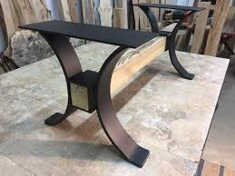 steel coffee table base ohiowoodlands table legs coffee table