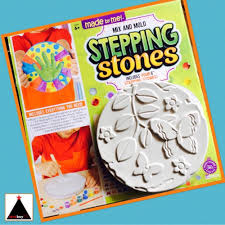 diy stepping stones mix and mold super fun youtube