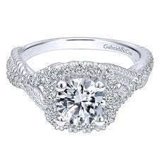 rings pave images 14k white gold diamond riata and pave twist halo 14k white gold jpg